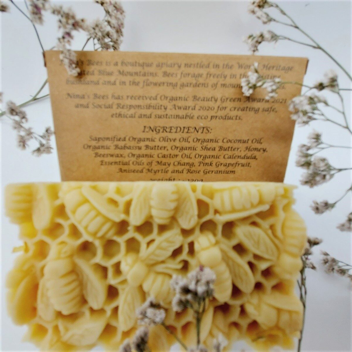 Designed bee soap